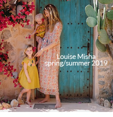 Louise Misha SS19 Look Book