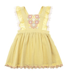 Pinea Dress - Soft Yellow ★ONLY 3Y★