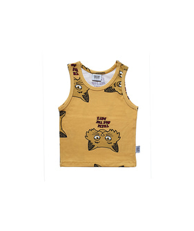 Tank Top - Yellow Cat