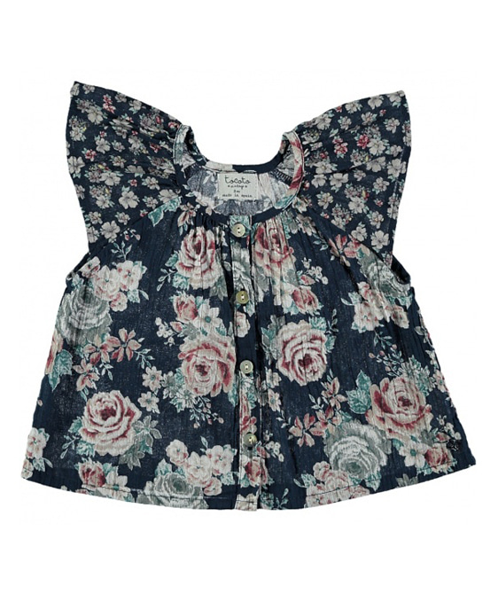Baby Flowers Blouse #S90419 ★ONLY 2Y★