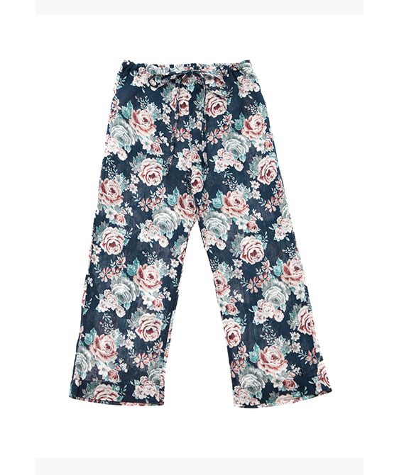 Flowers Pyjamas Trousers #S11819