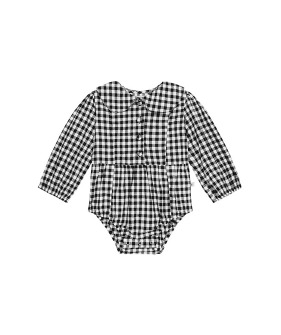 Evie Playsuit - Gingham ★ONLY 3Y★