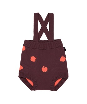 Apples Baby Bloomer - Aubergine/Red ★ONLY 18M★