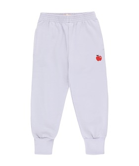 Apple Sweatpant - Light Lilac/Burgundy ★ONLY 6Y★