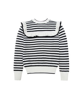 Abby Knit Pullover - Stripe