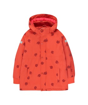 Apples Snow Jacket - Red/Burgundy
