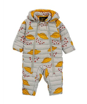 UFO Insulator Baby Overall -  Grey ★ONLY 18M★