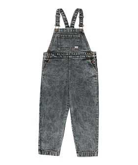Denim Overall - Snowy Black ★ONLY 4Y★