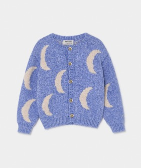 Moon Jacquard Cardigan #122 (Kids) ★ONLY 10-11Y★