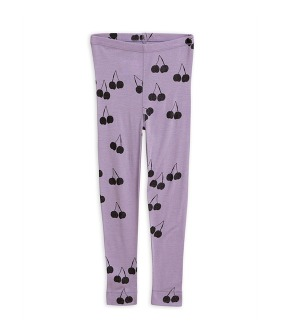Cherry Wool Leggings - Purple ★ONLY 116/122★
