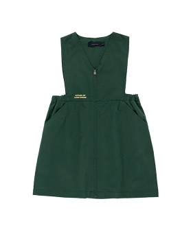 Lw Citizen V-Neck Dress - Bottle Green  ★ONLY 8Y★