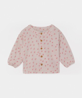 All Over Stars Buttons Blouse #147