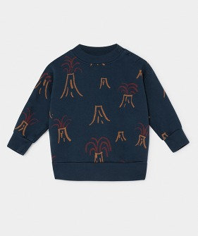All Over Volcano Sweatshirt #151