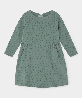 All Over Stars Fleece Dress #080