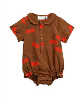 Cherry Woven Body - Brown