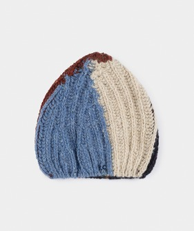 Color Block Beanie #116