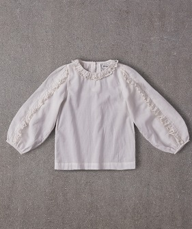 Gaia Blouse - Bright White