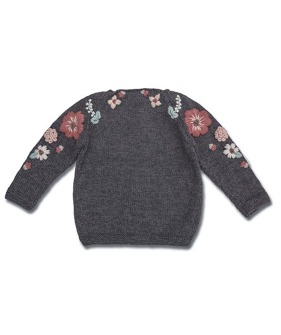Flora Sweater - Dark Grey (입고지연)