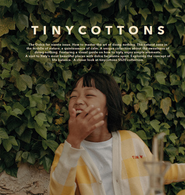 Tiny Cottons SS20 Look Book