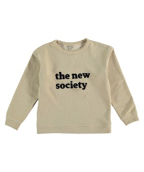 The New Society Sweatshirt  - Natural