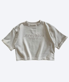 Boxy Sweat - Gravel_MS064