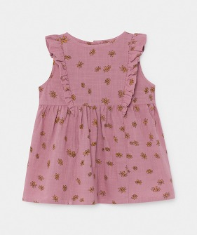 All Over Daisy Ruffle Dress (Baby) #00088