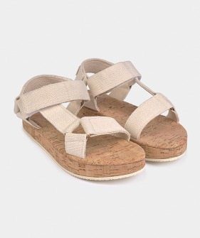 Bobo Choses Raw Velcro Sandals (Kid) #11051