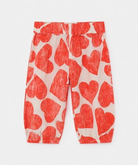 All Over Hearts Baggy Trousers  (Baby) #00066