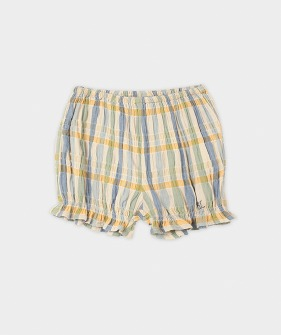 Checker Woven  Shorts  (Baby) #00058 ★ONLY 18-24M★