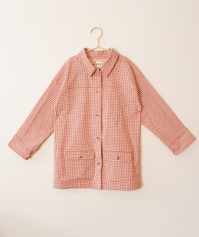 Vichy Jacket - Sunset ★ONLY 4Y★