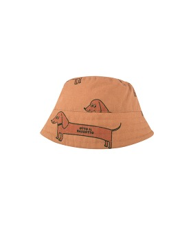 Il Bassotto Bucket Hat - Tan/Cinnamon