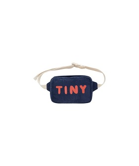 Tiny Fanny Bag - Light Navy/Red