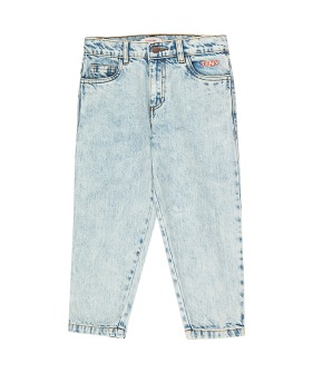 Tiny Baggy Jeans - Snowy Blue