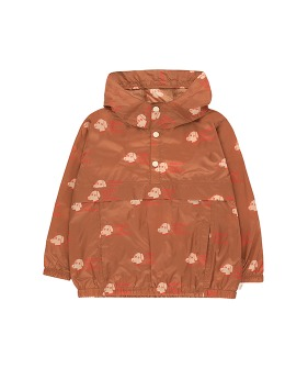 Dogs Pullover - Cinnamon/Light Cream