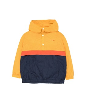 Color Block Pullover - Yellow/Light Navy