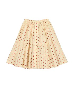 Esmée Skirt - Dots Red