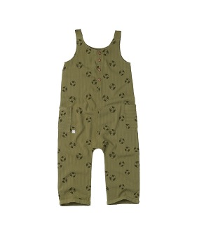 Jumpsuit print Lifebuoy - Tropical green