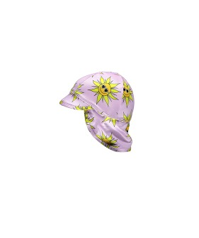 Sunny Flower Baby Hat - Lila