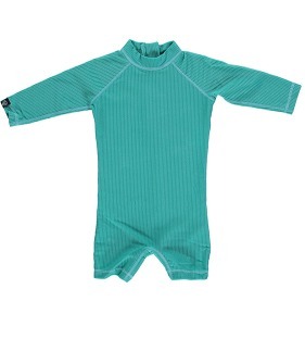 Lagune Ribbed Baby suit  - Lagune ★ONLY XS★