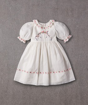 Violet Dress (N20S065) - Bright White ★ONLY 6Y★