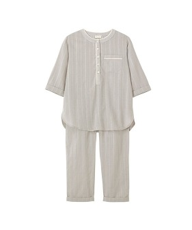 The Ash PJ - Stone Grey