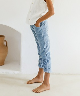 Penny Trousers - Swedish Blue