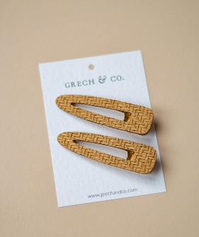Woven Clips - 2 Colors