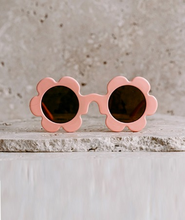 Daisy Kids Sunglasses- Orange Fizz