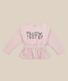 Pillow Tester Girl Sweatshirt #01043 ★ONLY 4-5Y★