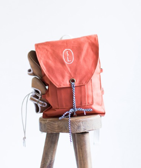 Traveller Backpack- Terracotta Orange