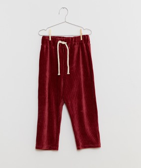 Red Corduroy Pants - Red