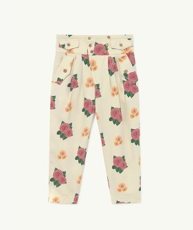 Camel Twill Kids Trousers - 001359_036_RX