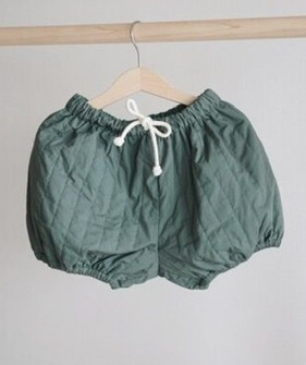 Padded Bloomers - Green
