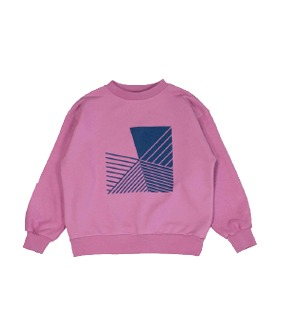 MS079 Oversized Sweatshirt - Orchid Smoke